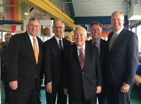 Mayors of Indianapolis - Greg Ballard, Steve Goldsmith, Richard Lugar, Joe Hogsett & Bart Peterson