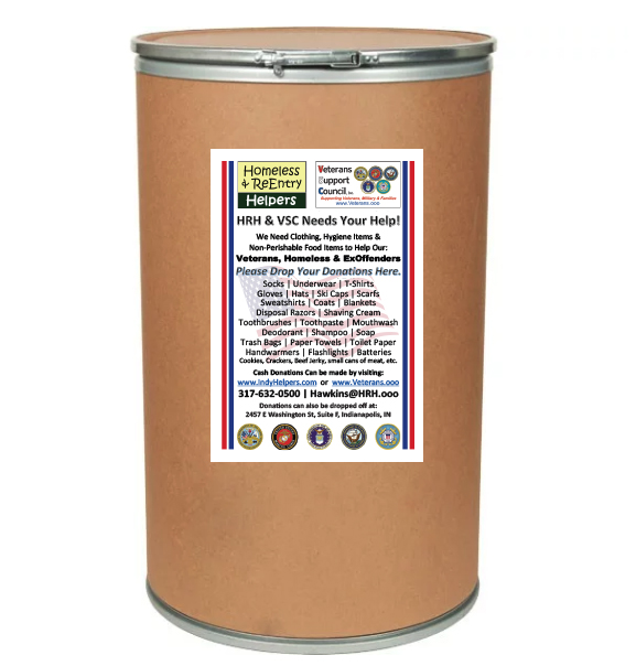 VSC's & HRH's Donation Barrel